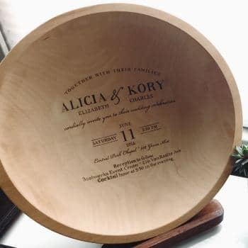 Personalized Engraving. Get your custom engraved bowls from Holland Bowl Mill
