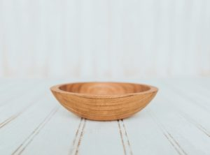 6-Inch Cherry Bowl – Bee's Oil Finish