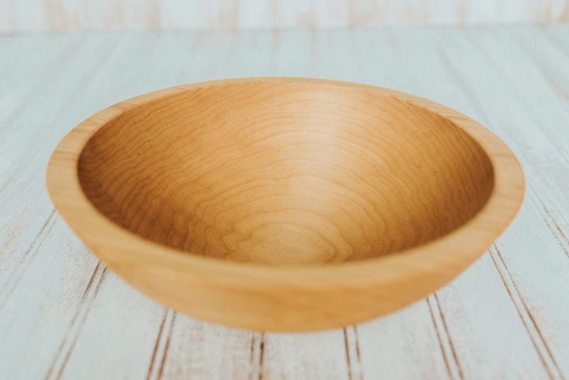 10-inch Maple bowls