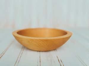 7 inch Maple Bowl – Bee's Oil Finish
