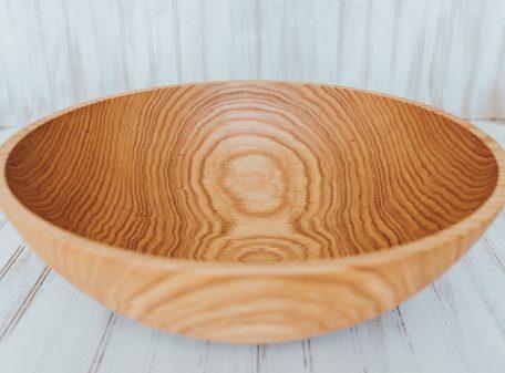 20 inch Northern Michigan Large Red Oak Bowl