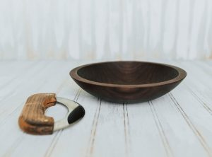 9-inch Walnut Chopping Bowl Set