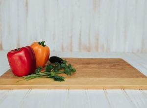Cherry Live Edge Presentation and Cutting Board