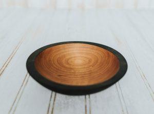 6-Inch Ebonized Cherry Bowl – Bee's Oil Finish