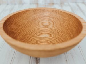10-inch Red Oak Bowl