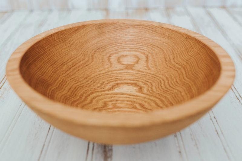 10-inch Red Oak Bowl