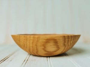 7-inch Red Oak Bowl