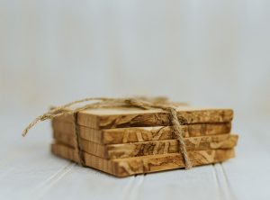 Ash Coasters Set of 4