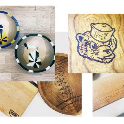 Custom Wooden Bowls