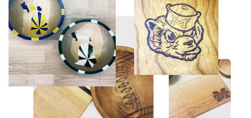 Custom Wooden Bowls