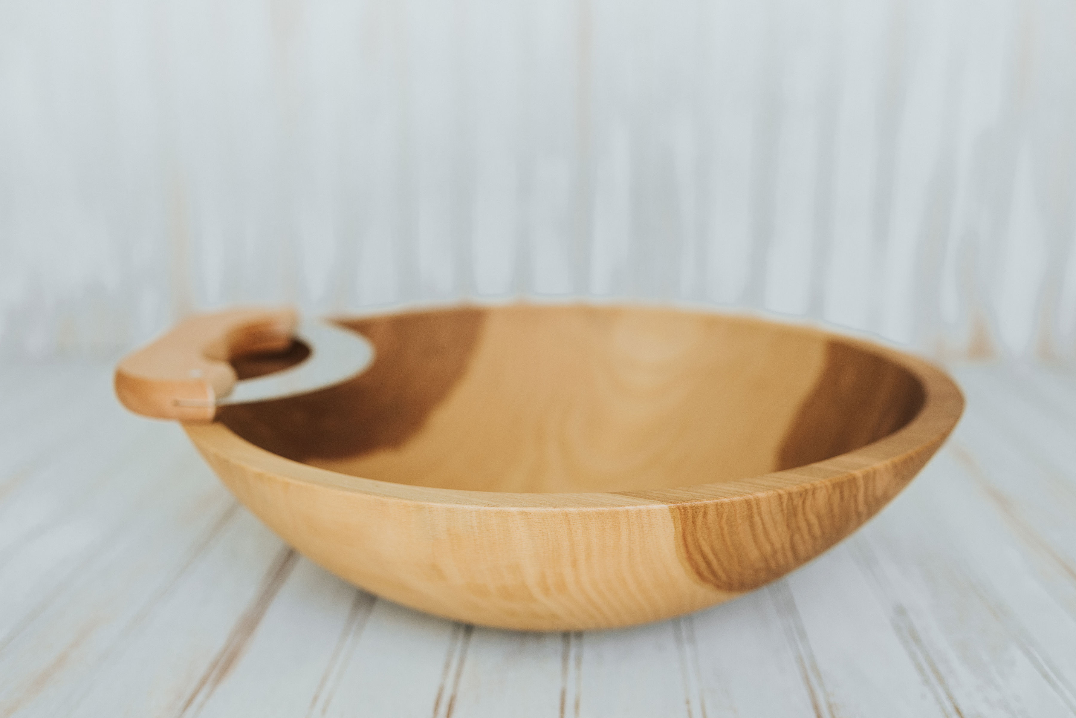 Sono Wood Oval Serving Bowls