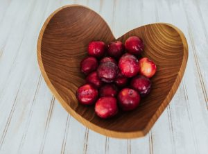17 inch Cherry Heart Bowl