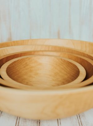 Solid Maple Bowls