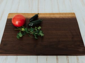Walnut Cutting Boards and Live Edge Presentation Boards