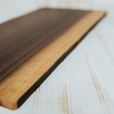 Walnut cutting boards and live edge presentation board