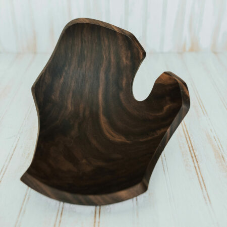 Michigan shaped bowls made from Walnut