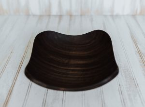 12-inch Walnut Four Corners Bowl