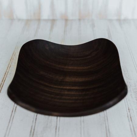 12-inch Walnut Four Corners Bowl