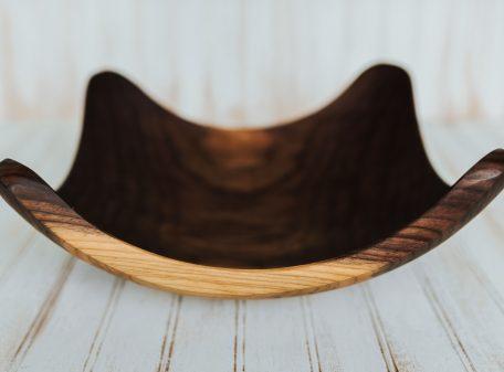 17-inch Walnut Four Corners Bowl