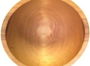 10 inch Beech Bowl – Bee's Oil Finish