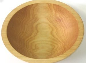 8 inch Maple Bowl – Bee's Oil Finish