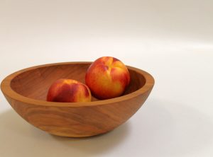 10 inch Cherry Bowl – Bee's Oil Finish