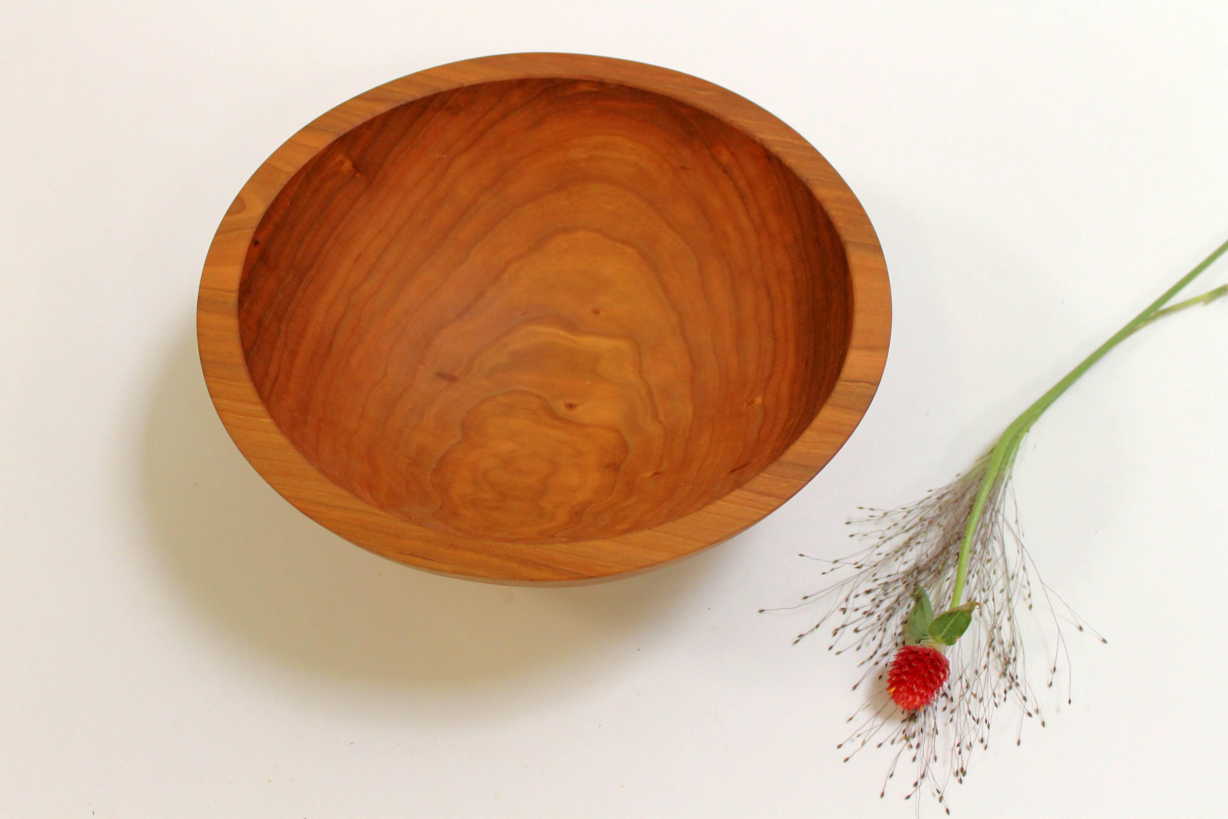 10 Inch Cherry Bowl Bee S Oil Finish Holland Bowl Mill