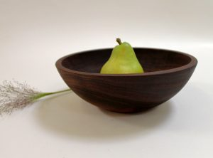 10 inch Walnut Bowl – Bee's Oil Finish