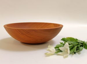 12 inch Cherry Bowl Bee's Oil Finish – Featured In New York Times Holiday Gift Guide 2013