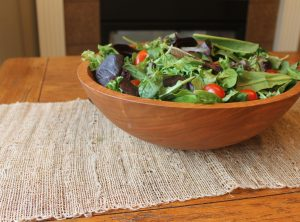 15 inch Cherry Bowl – Bee's Oil Finish