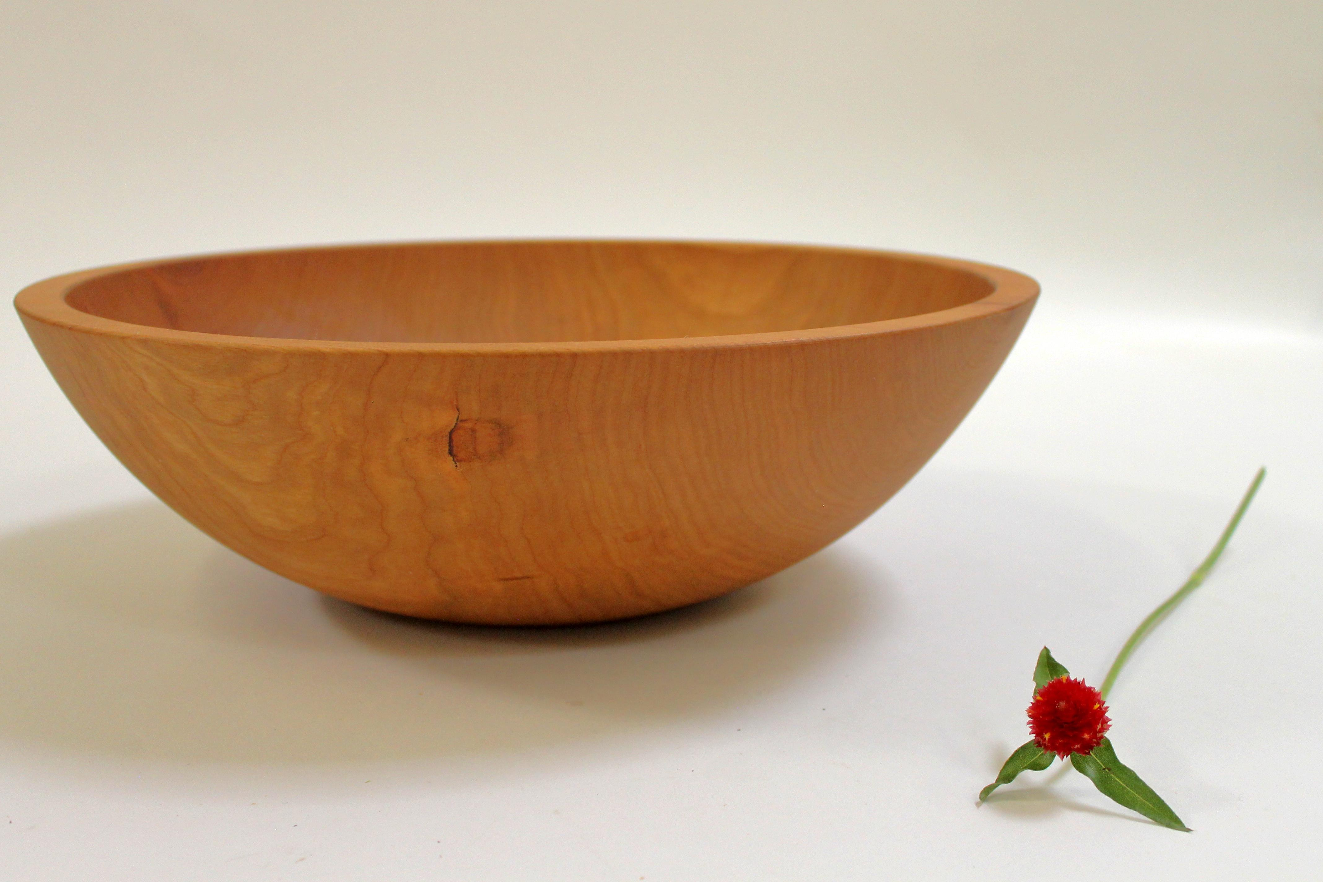 15 Inch Cherry Bowl Bee S Oil Finish Holland Bowl Mill