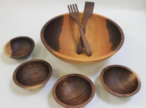 Wooden bowl sets