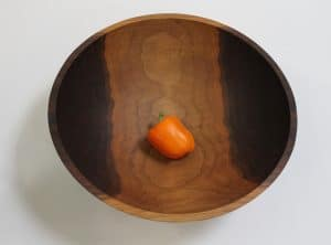20 inch Walnut Bowl – Bee's Oil Finish