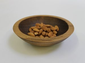 6-Inch Beech Bowl – Dark Walnut & Bee's Oil Finish