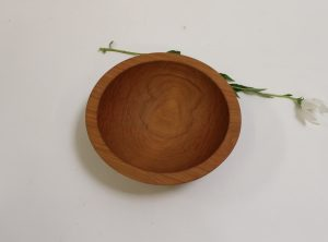 7 inch Beech Bowl – Bee's Oil Finish