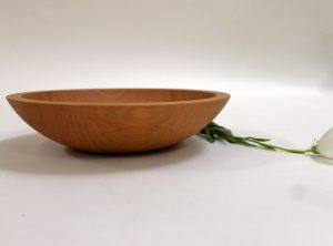 9 inch Beech Bowl – Bee's Oil Finish