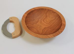 9 inch Cherry Chopping Bowl Set – Bee's Oil Finish