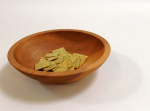 9 inch Maple Bowl – Bee's Oil Finish