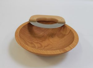9 inch Northern Michigan Red Oak Chopping Bowl Set – Bee's Oil Finish