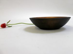 6 inch Ebonized Cherry Bowl – Bee's Oil Finish