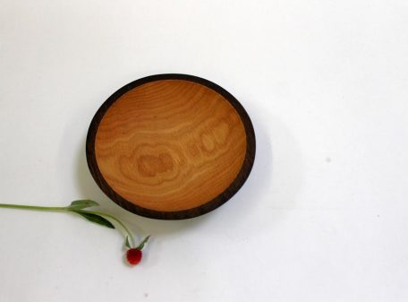 9 inch ebonized wooden bowl is a piece of carved furniture derived from the ancient Egyptians.
