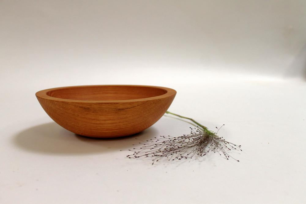 how to finish a wood salad bowl