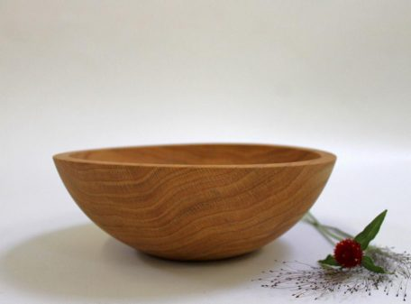 "10"" Red Oak Bowl"
