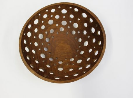 17-inch Cherry Fruit Bowl (with holes for airflow)