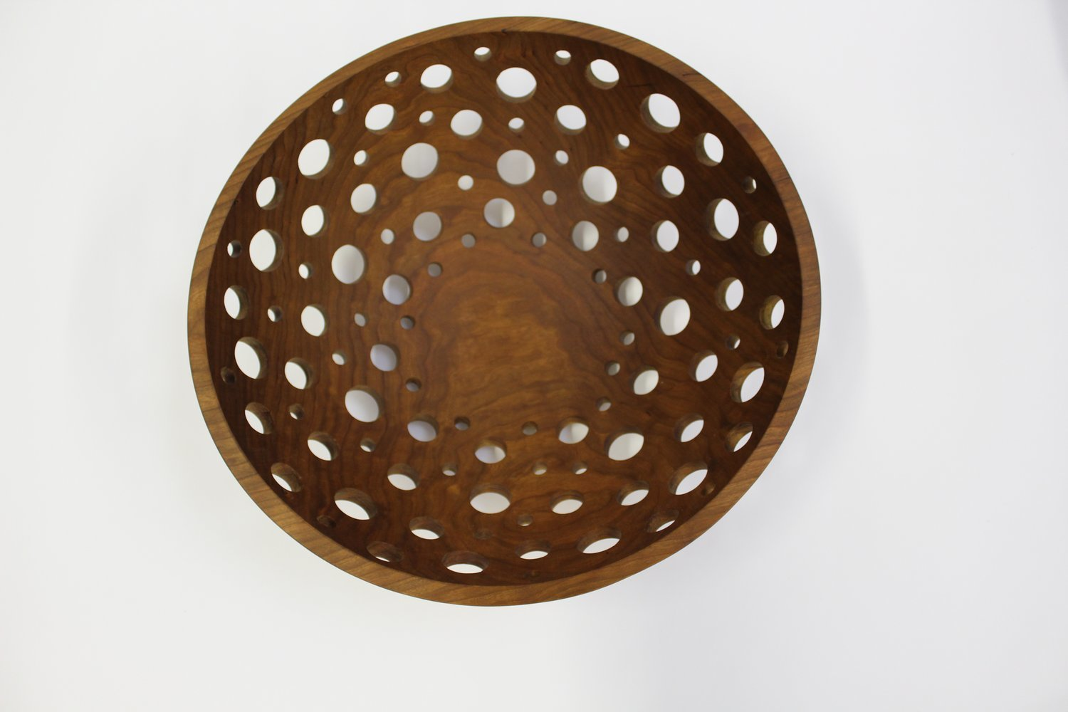 17 Inch Cherry Fruit Bowl Bee S Oil Finish Holland