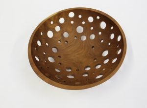 15″ Cherry Fruit Bowl