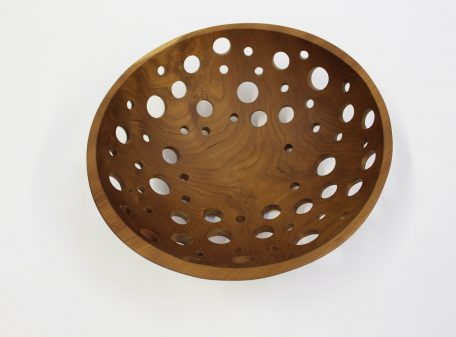 Perfect wooden fruit bowls, like this Cherry bowl, are a great for rinded fruits.