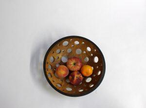 Ebonized Cherry Fruit Bowl