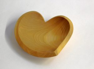 Beech Tear Drop Heart